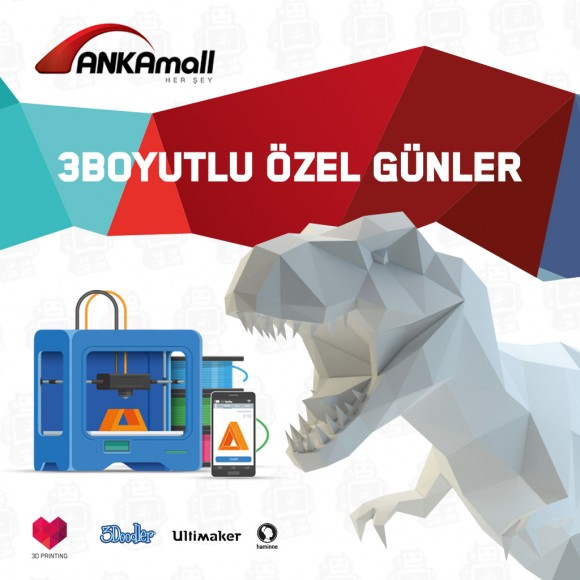 ANKAMALL 3D PRINTER DAYS